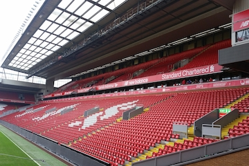 Liverpool – Anfield-Stadions