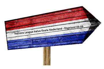 Halve finale Nations League Nederland – Engeland