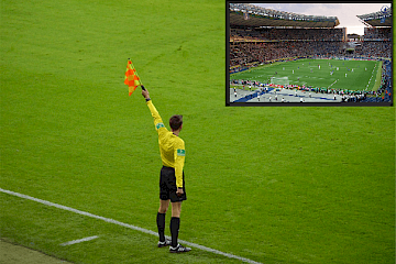 Try out nieuwe on-field-announcement na VAR-moment